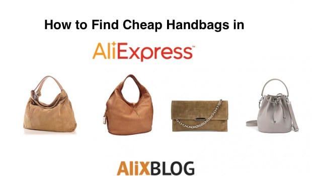 Cheap handbags in AliExpress