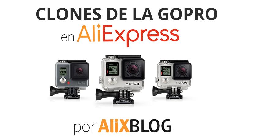 Clones de la GoPro en AliExpress