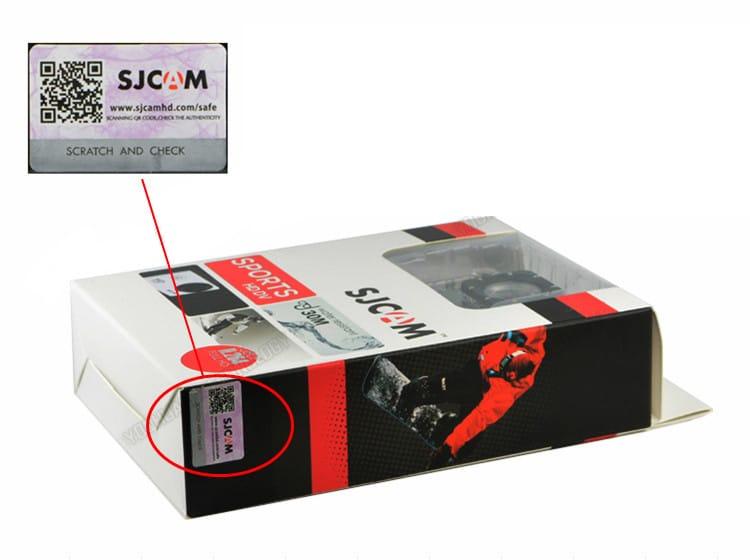 Código de seguridad de la SJCAM