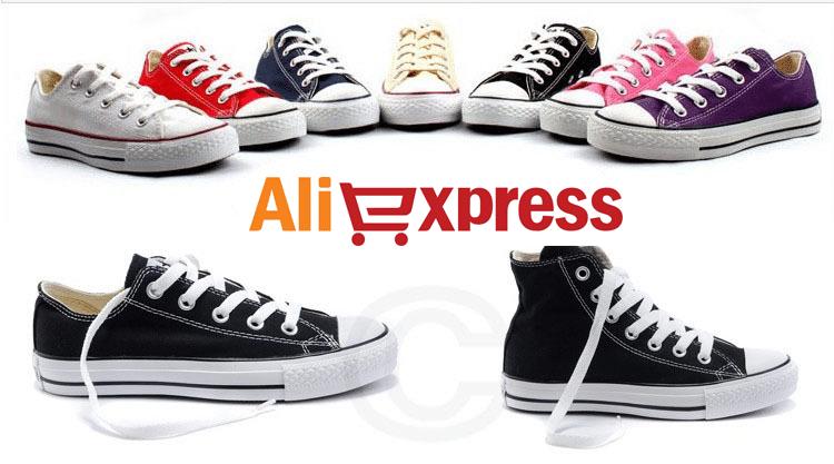 Cercando le migliori converse su AliExpress