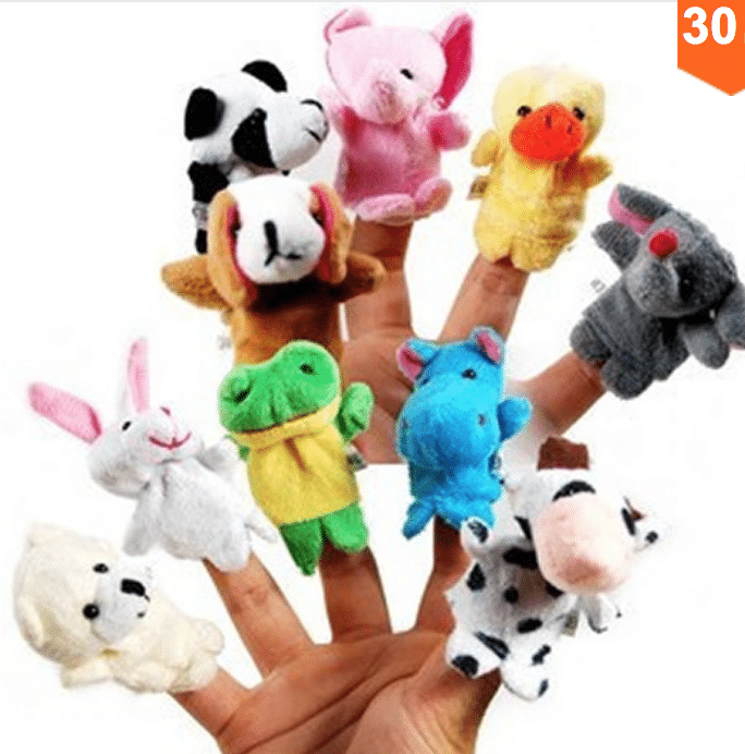 Titeres dedos juguetes aliexpress