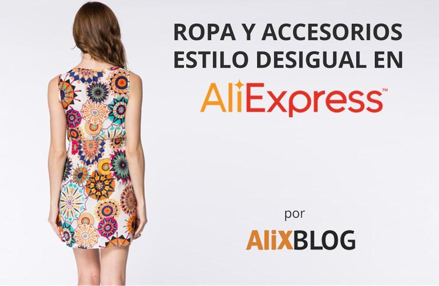 Ropa y vestidos desigual en AliExpress