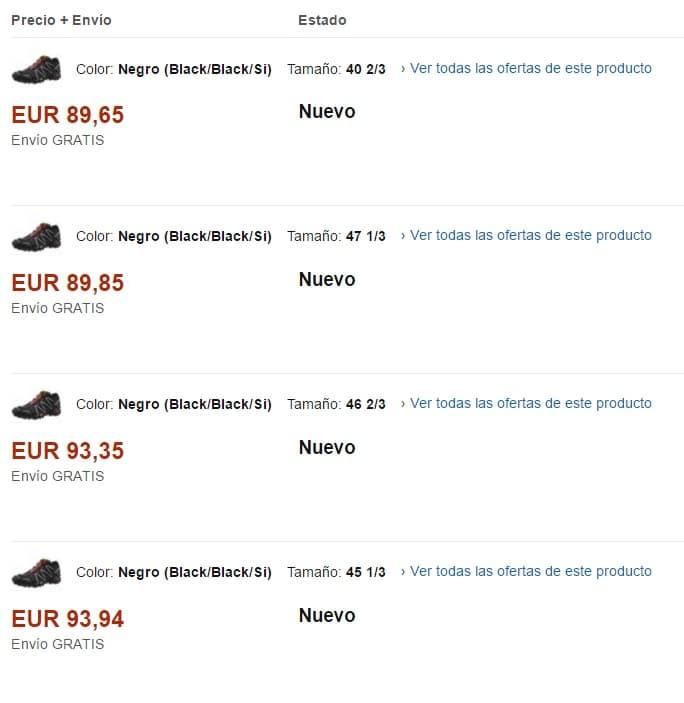 Precios bajos Amazon