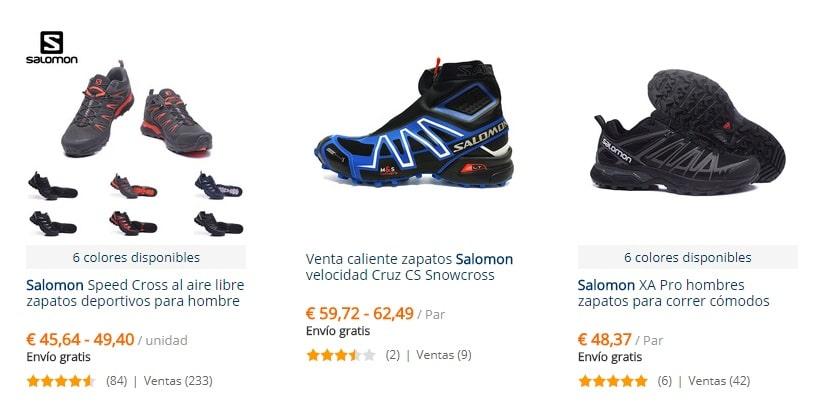 donde puedo comprar zapatillas salomon italia