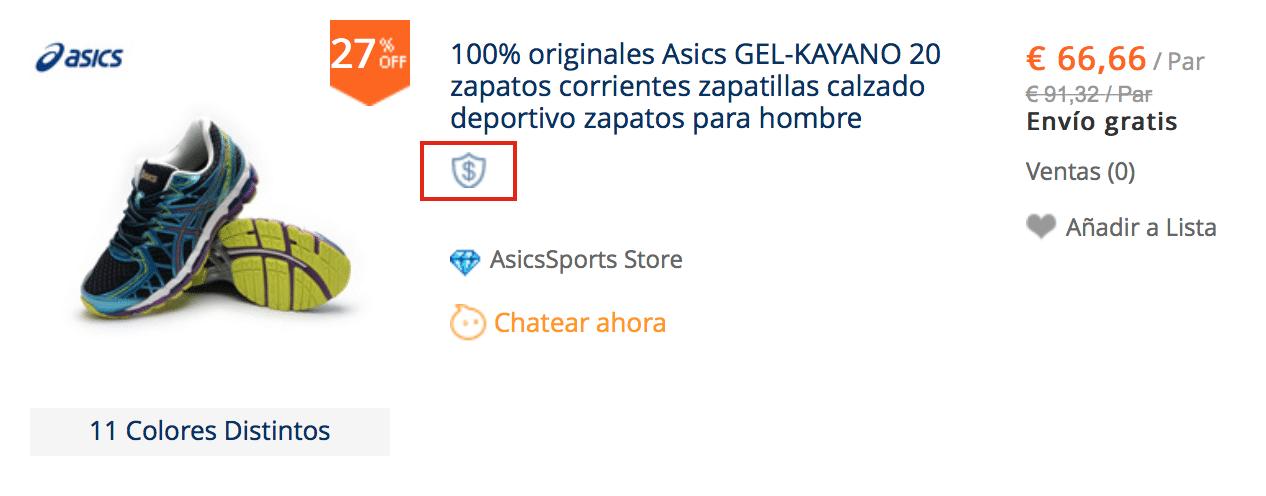 Zapatillas Asics originales baratas en AliExpress
