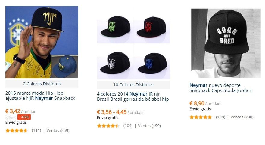 Camisetas Neymar AliExpress