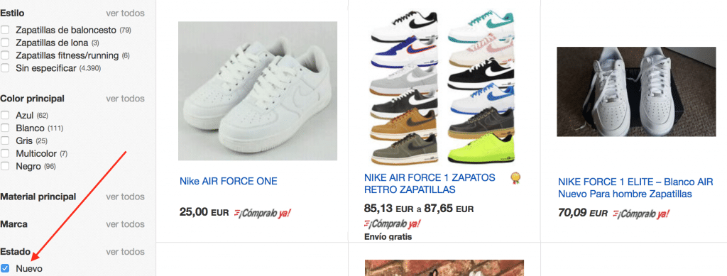 comprar nike air force baratas online