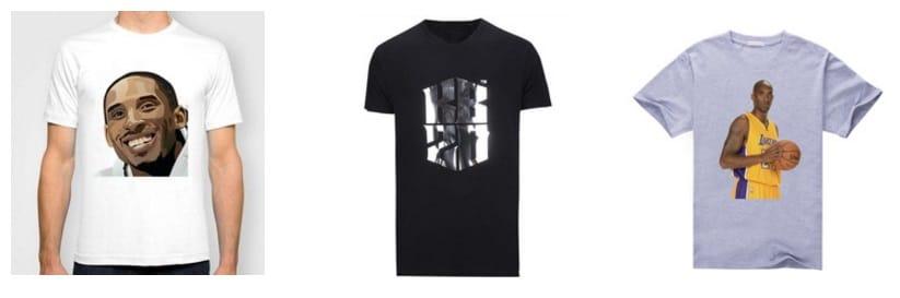 Camisetas Kobe Bryant