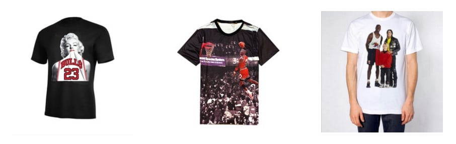 Camisetas de Michael Jordan