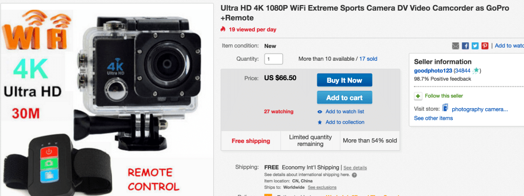 Full Review on the AliExpress GoPro style cameras ✓
