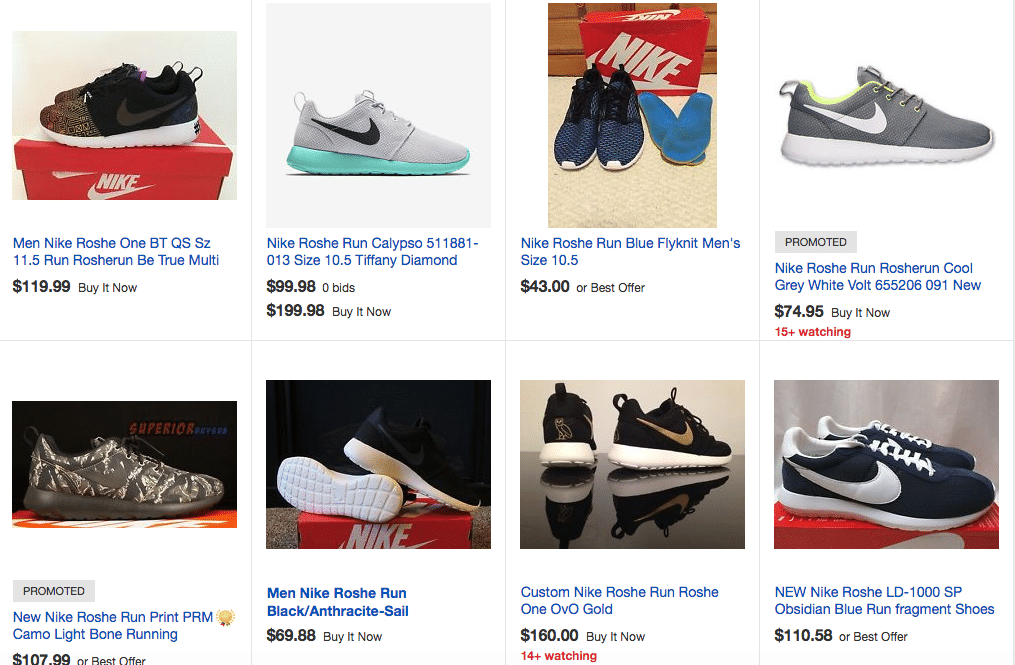 Nike Roshe Run EBAY
