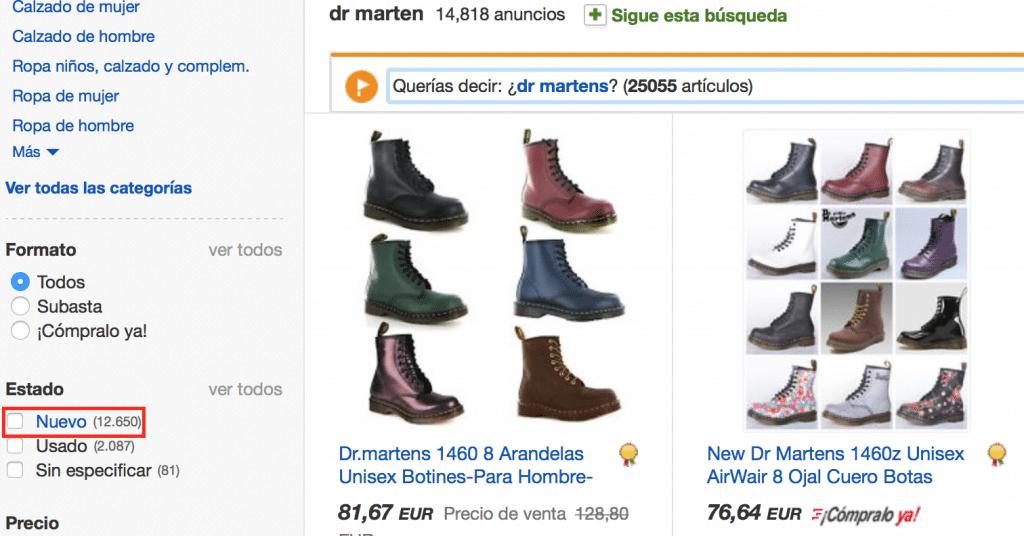 dr marten baratas online en ebay como comprar