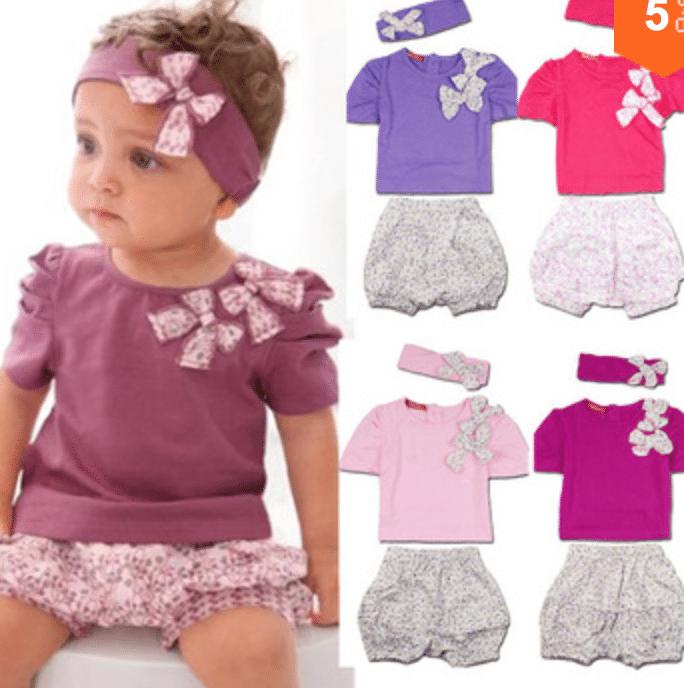 Compra ropa de bebé barata en los sitios recomendados en la lista de arriba para ahorrar tiempo y dinero. Se creativo y diviértete vistiendo a su bebé. Si ves un estilo de ropa que te gusta pero es muy cara, busca prendas similares en Internet. Ropa de bebé: Precios y preguntas.