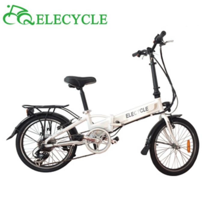 Bicicleta plegable electrica