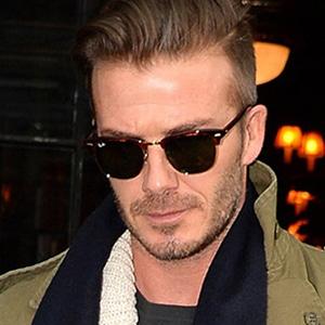 Beckham con unas Clubmaster