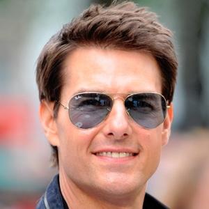 Tom Cruise con unas Aviator