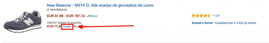 New Balace Nuovo