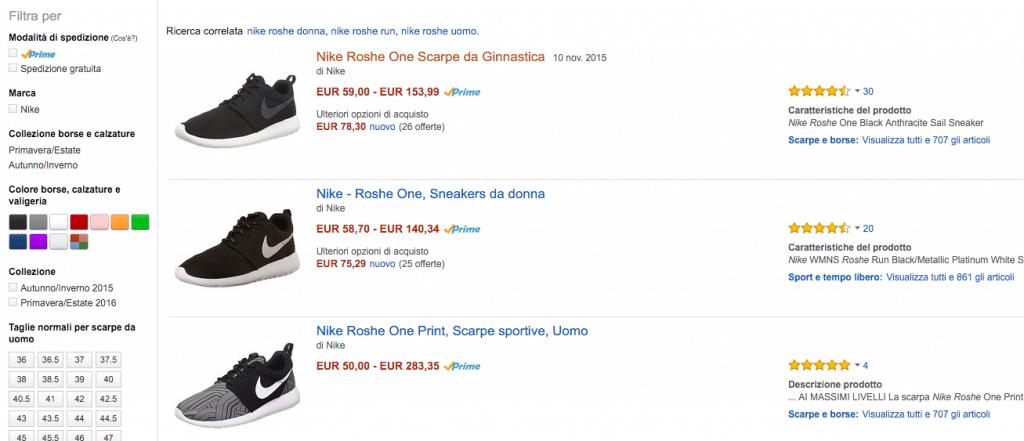Nike Roshe Amazon