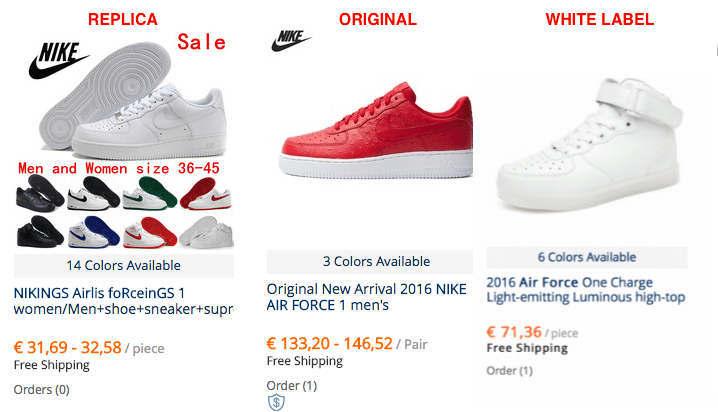 Guide to buy cheap Nike Air Force on AliExpress 2019 b77ec26aa