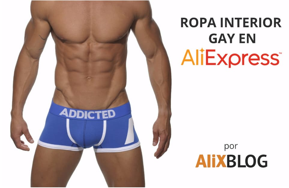 Ropa interior gay barata en AliExpress