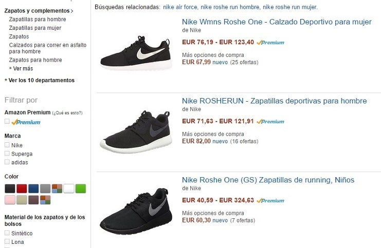 Nike Air Force Baratas Amazon