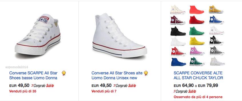 Converse ebay IT