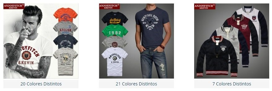 Ropa Abercrombie Fitch