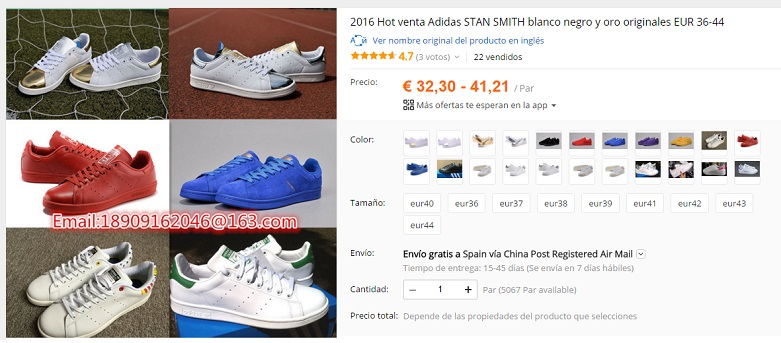 the best attitude a9be7 c450a ¿Adidas Stan Smith replicas