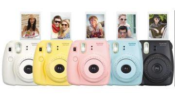 Câmeras instantâneas baratas – Polaroid / Fujifilm