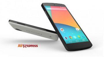 Móviles y tablets Google Nexus baratos en AliExpress