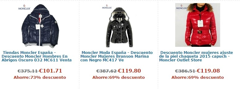 dove comprare moncler online