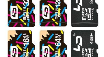 Des Cartes-mémoire SD et micro SD très bon marché sur AliExpress