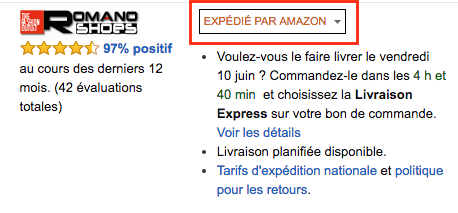 Amazon Nike Roshe expedie FR