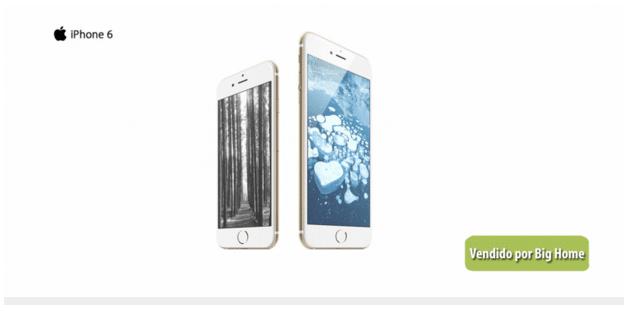 Iphone 6 bighome no AliExpress