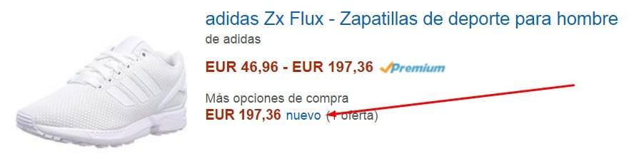 El mejor precio en Amazon está aquí