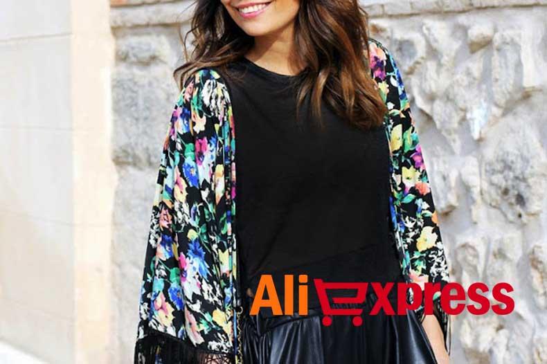 chaquetas kimono aliexpress