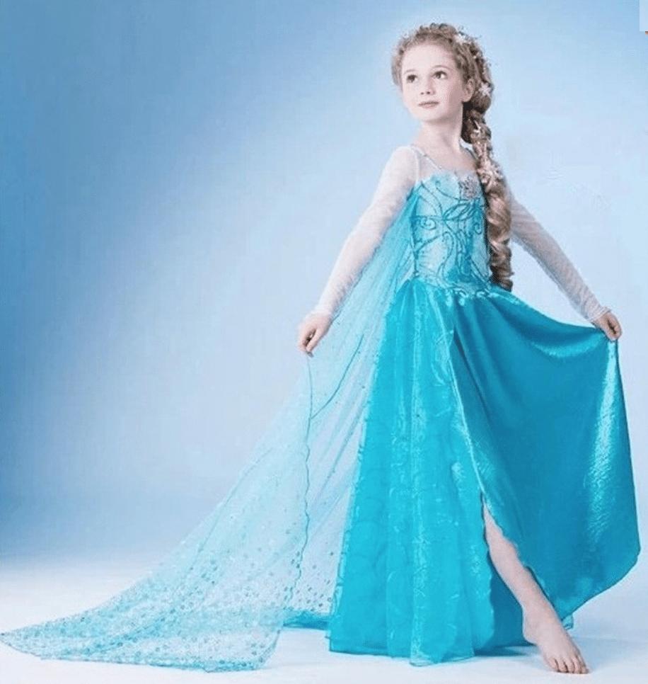 vestido disfraces de frozen baratos
