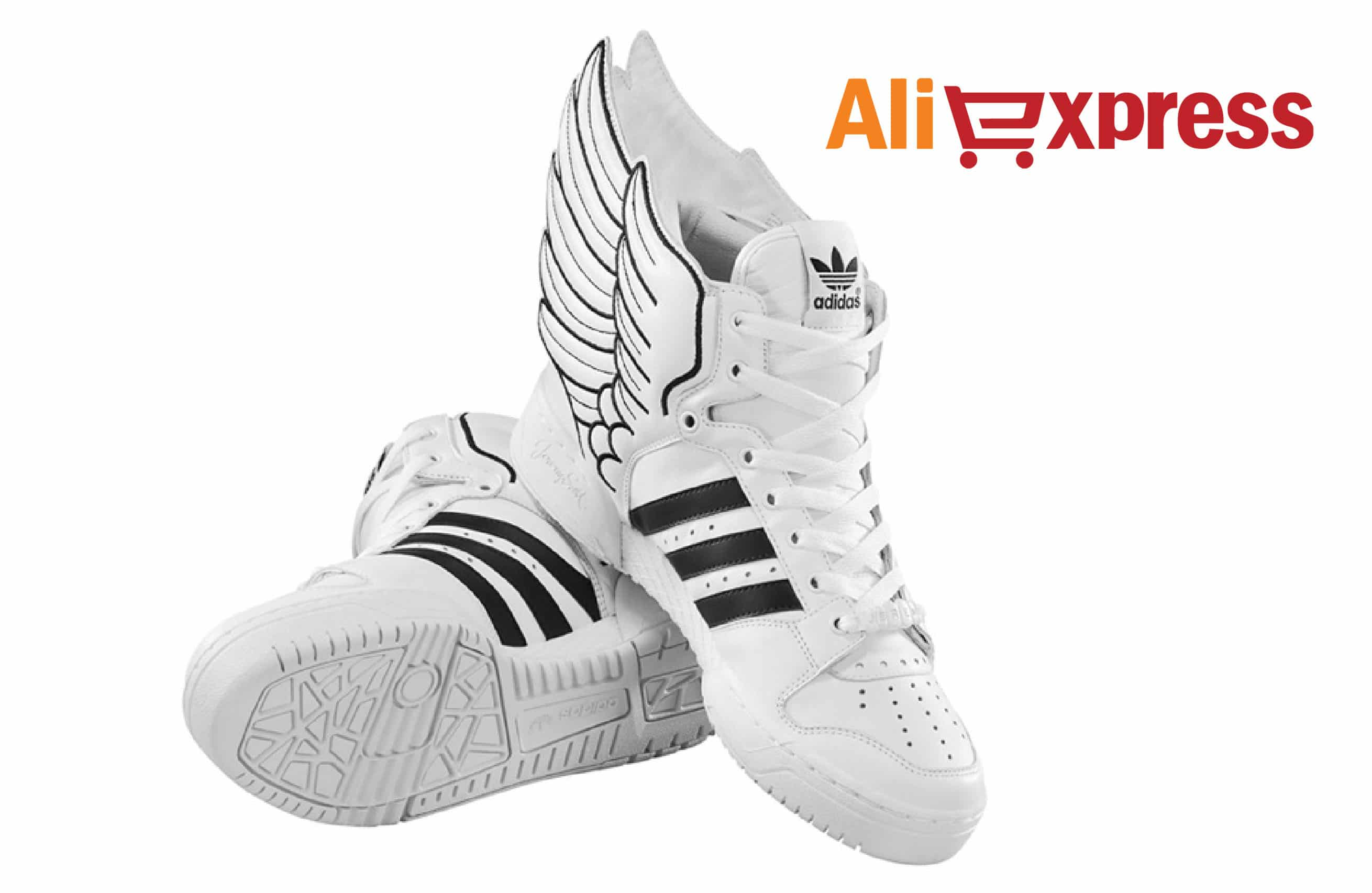 Adidas de Jeremy Scott baratas no AliExpress