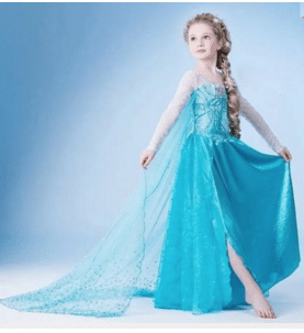Frozen costume no Aliexpress