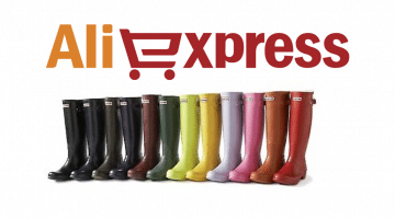 Botas de lluvia Hunter baratas en AliExpress y otras tiendas online