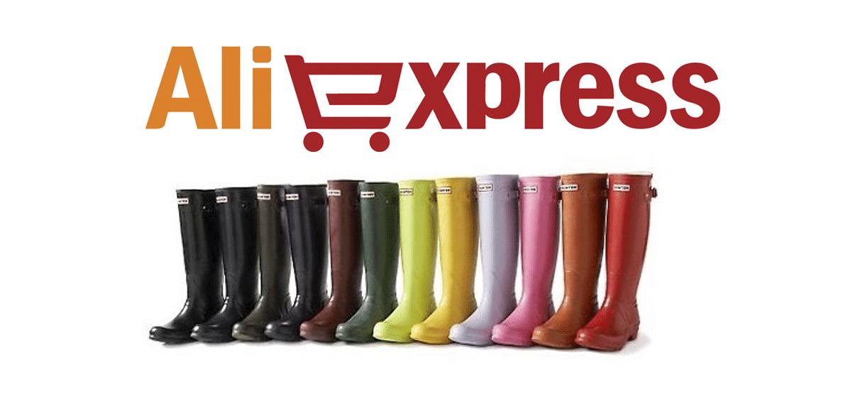 Hunter boots BARATAS no AliExpress
