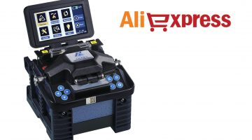 Fiber optic fusion splicers in AliExpress