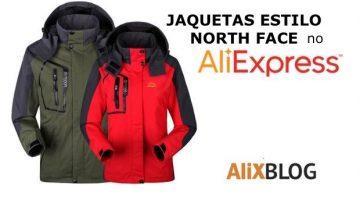 Blusas e jaquetas estilo North Face no AliExpress: alta qualidade e preço tão barato quanto outlet