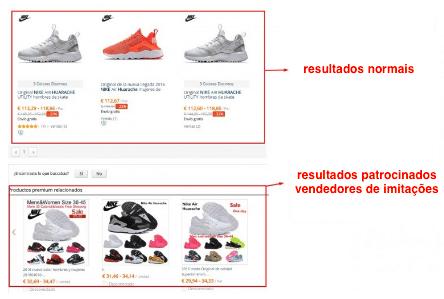 Nike imitation PT