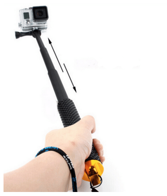 Pau selfie GoPro no Aliexpress