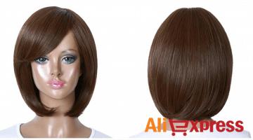 Des perruques bon marché sur AliExpress : cheveux naturels et artificiels