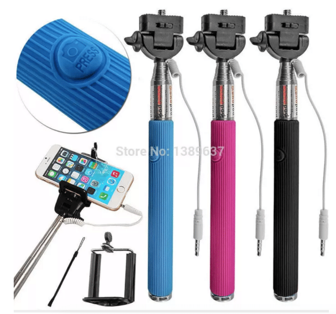 Wired Selfie Stick AliExpress