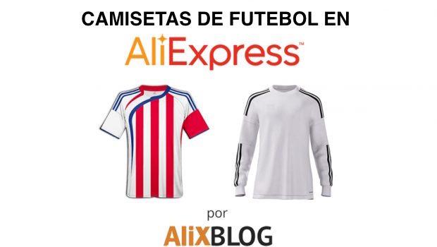 b4709c5cb3067 Camisetas de Fútbol Baratas en AliExpress - GUÍA abril 2019