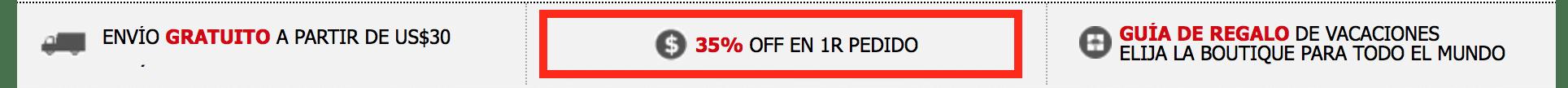 cupon - preimer pedido de ropa o accesorios en sheinside te rebajan un 35 por ciento
