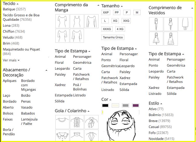 filter category PT